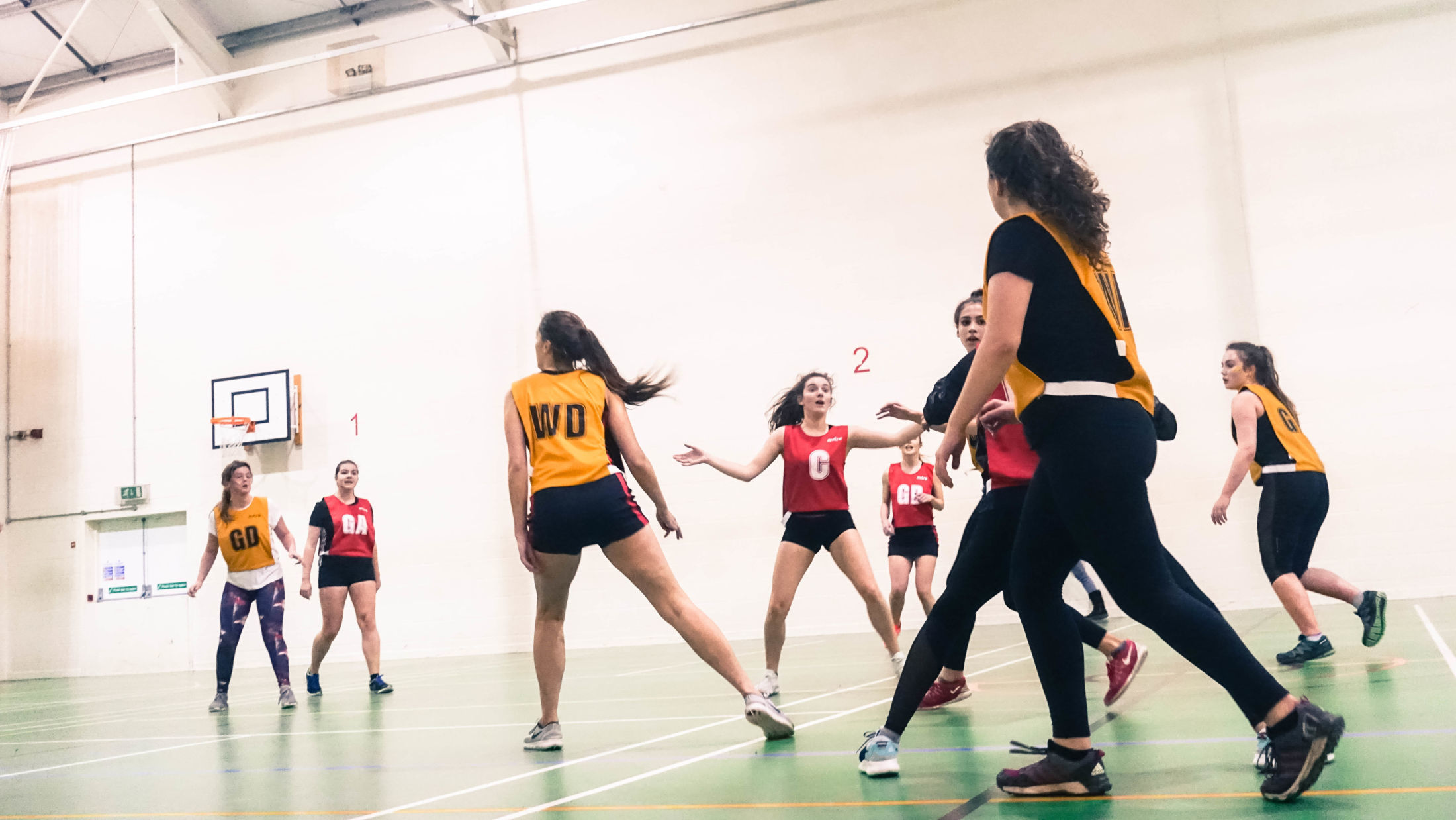 Netball at St David's College